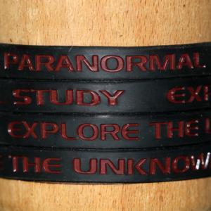 Black and Crimson Bracelet