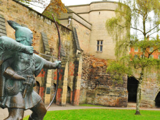 Nottingham Castle UK