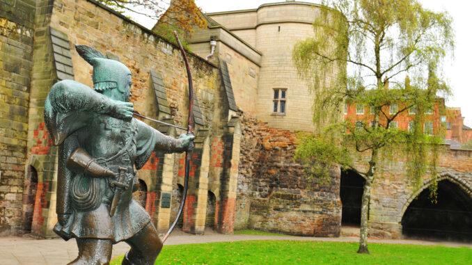 Nottingham Castle UK