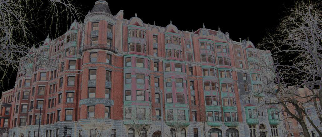 Charlegsate Hotel in Boston Dark Side