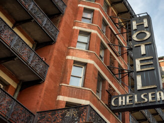 Chelsea Hotel, New York, NYC, USA