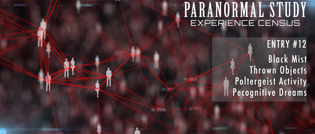 Paranormal Census 12 - Poltergeist and Precognition