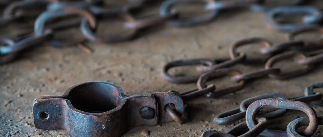 Slave Manacles Crenshaw House