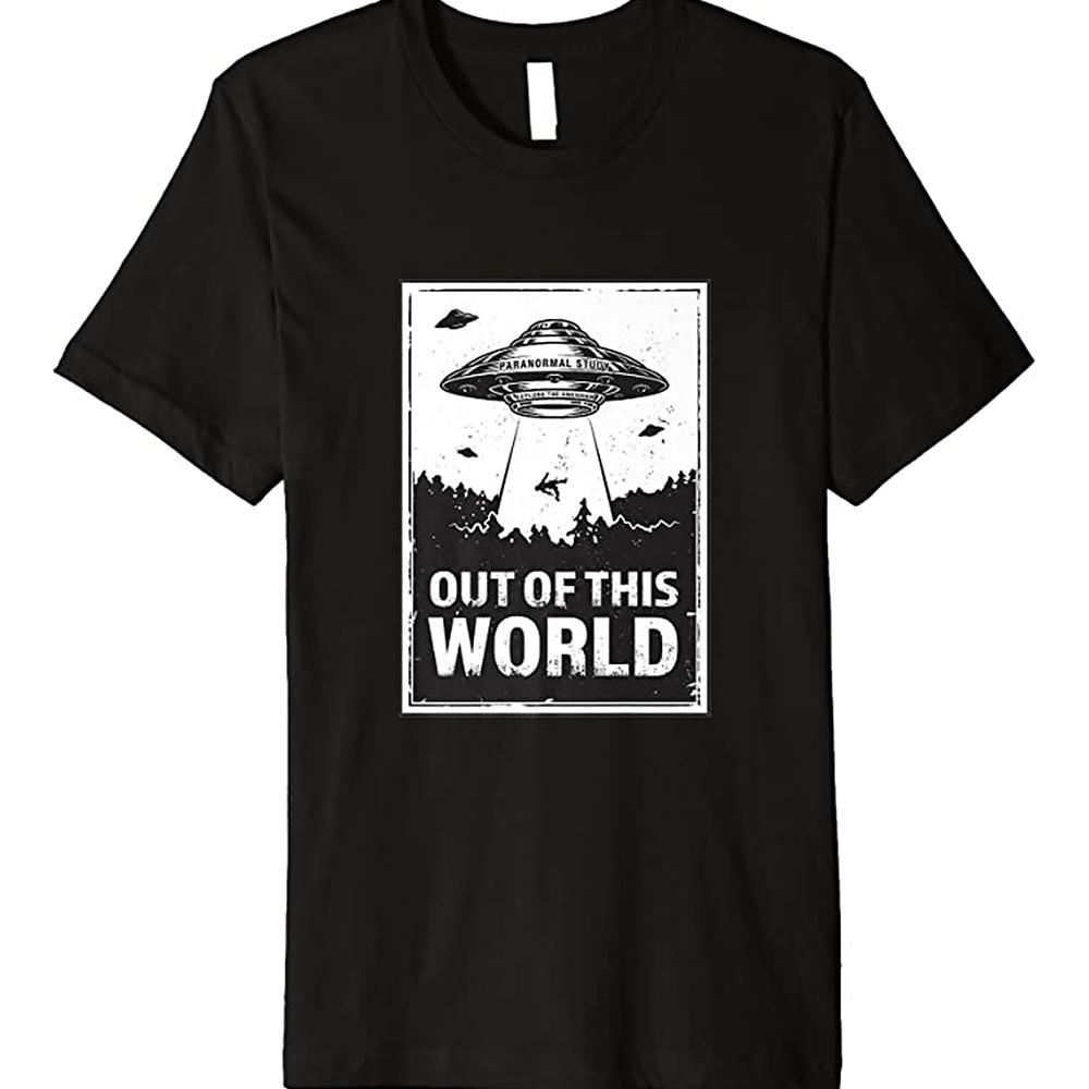 Paranormal Study UFO Abduction Shirt